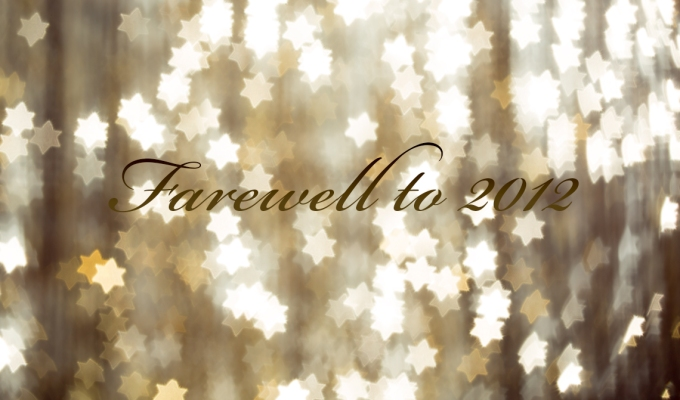 Farewell to 2012