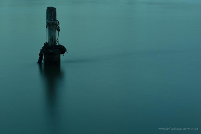 A Blue Pole