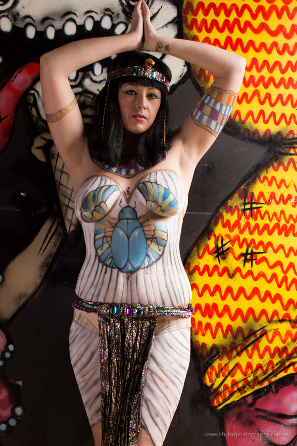 Body Painting by Sandra Temple (www.sandratemple.com)|Model:  Jo Jo (www.facebook.com/JosieModel)