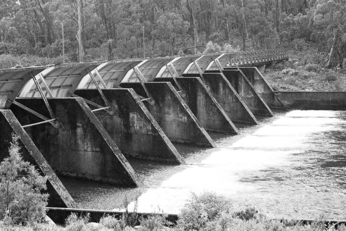 St Clair Dam